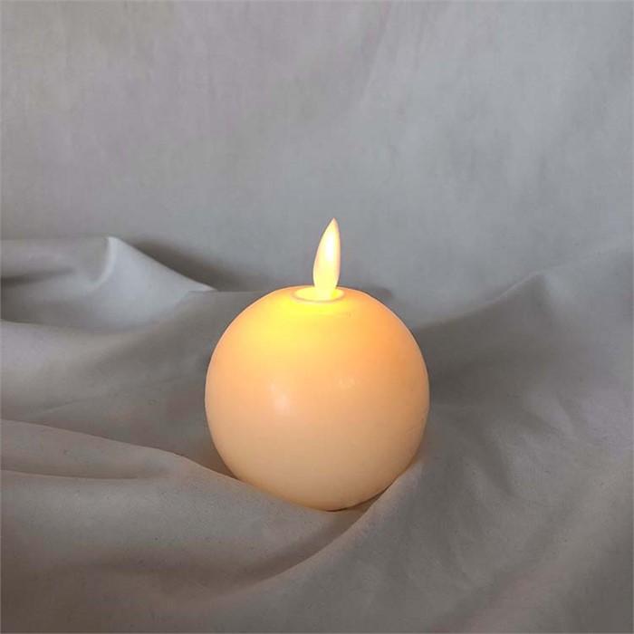 [피우다 (PIUDA)] led 라운드 볼초 (전자초)