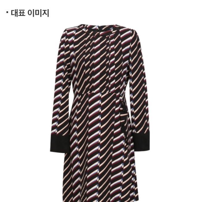 투미 NC05 턱장식 A라인 원피스(봄.가을) TMOW92303