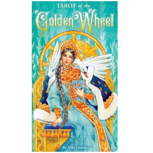 [타로서점] 골든 휠 타로카드 영문북셋 Golden Wheel Tarot