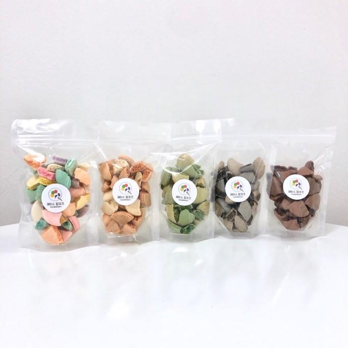 [제이스 앙꼬끄] 바삭한 꼬끄후레이크 5종(지퍼백-80g)
