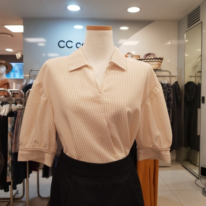 CC collect NC02 스트라이프블라우스 E193MSC104 LE