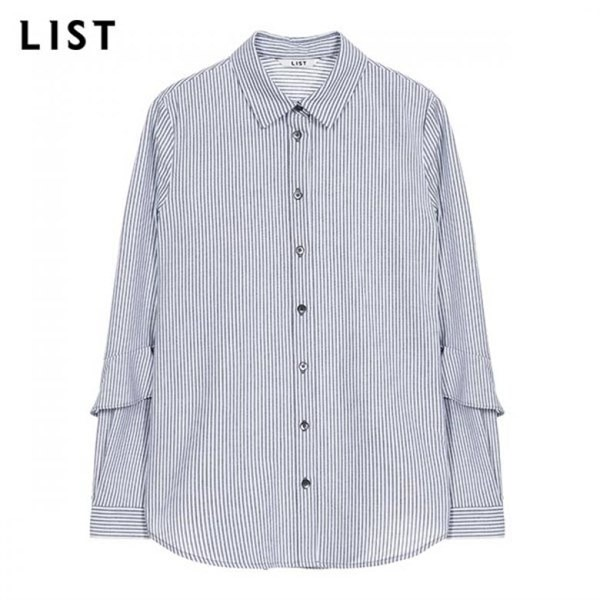 리스트 LIST NC05 스트라이프 코튼 셔츠 _TWWSTJ70140