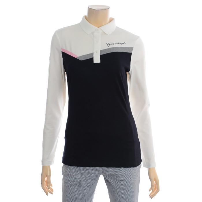 JDX NC02 여성 가슴배색포인트 티셔츠 X1QFTLW91
