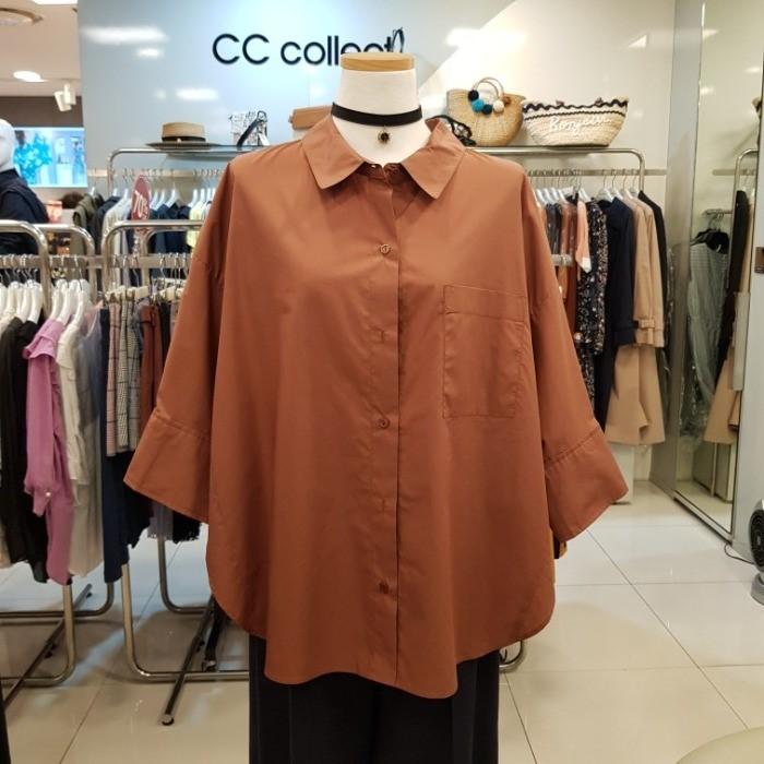 CC collect NC02 루즈핏포컷블라우스 E193MSC102 DP