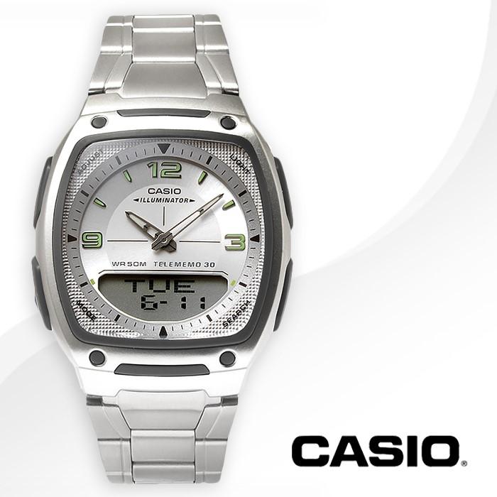 CASIO 카시오 AW-81D-7A 남성시계 메탈밴드 손목시계