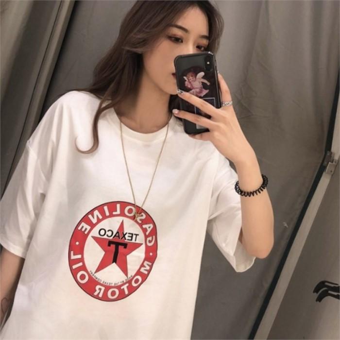 옷프린팅 캐릭터 나염반팔티 스타프린트티셔츠