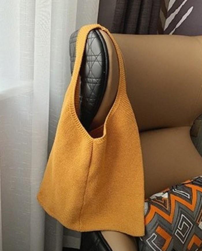 [이쁜] 니트 뜨개 가방