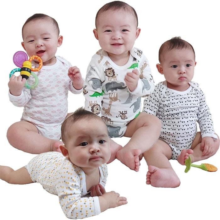 [트리베어] 1+1 신생아옷 아기옷 우주복 바디슈트 (2-12개월)