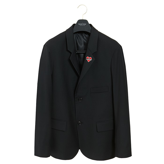 NOMANTIC HIGH QUALITY WOOL JACKET BLACK