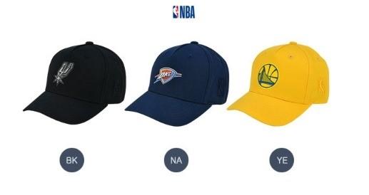 NBA키즈 NC02 NBA로고고주파와펜장식볼캡 K195AP051P