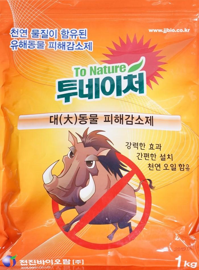 투네이처 멧돼지 고라니 퇴치제 천연기피제