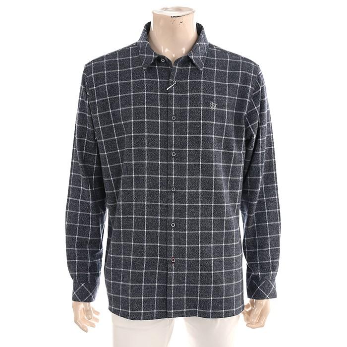 JDX NC02 남성 깅업 체크 셔츠 X2QFWSM03