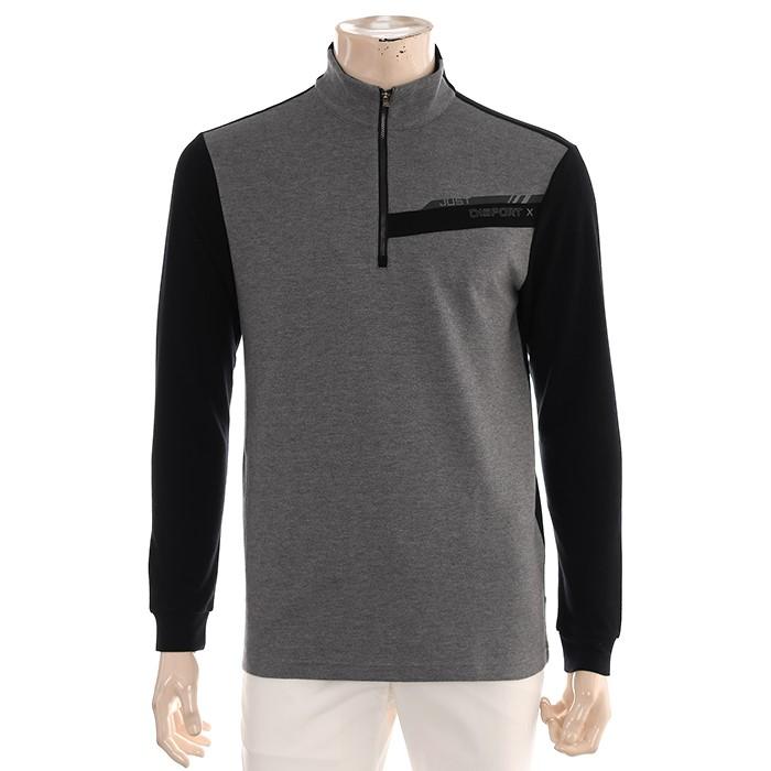 JDX NC02 남성 반짚업 티셔츠 X3QFTLM41