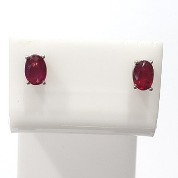 [블루케이] 루비 원석 귀걸이 n190813-06