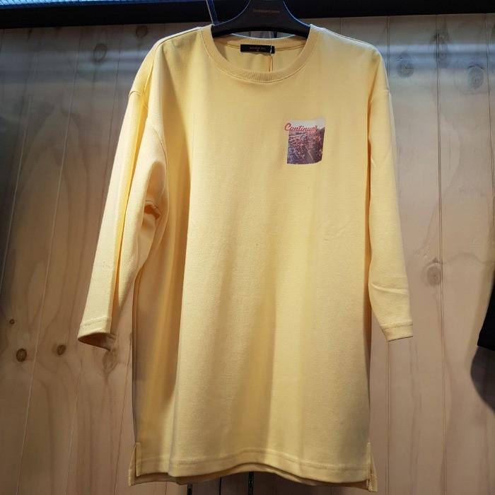 잠뱅이 NC05 여성 프린트 7부티셔츠 AJ8WTS62