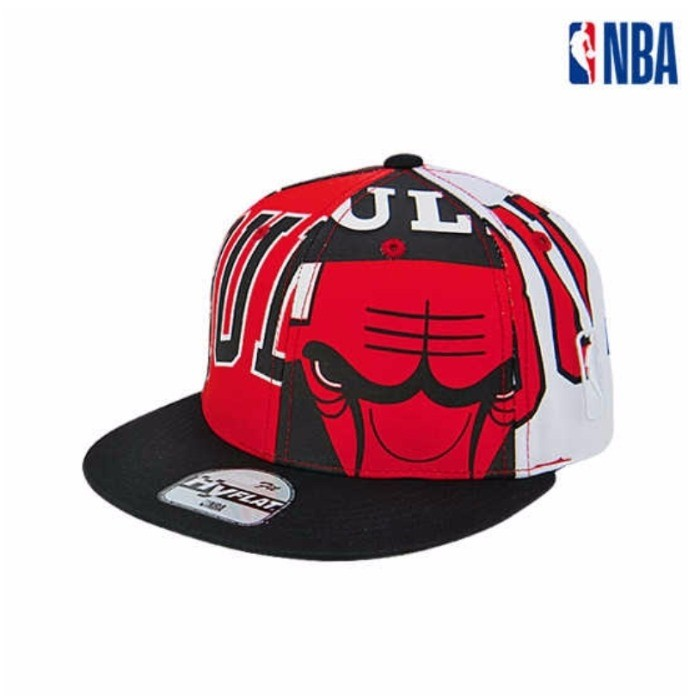 NBA키즈 NC02 시카고불스 프린트 스냅백 K195AP617P