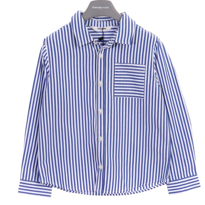 레노마키즈 PGD01 블루st셔츠 R1911B304