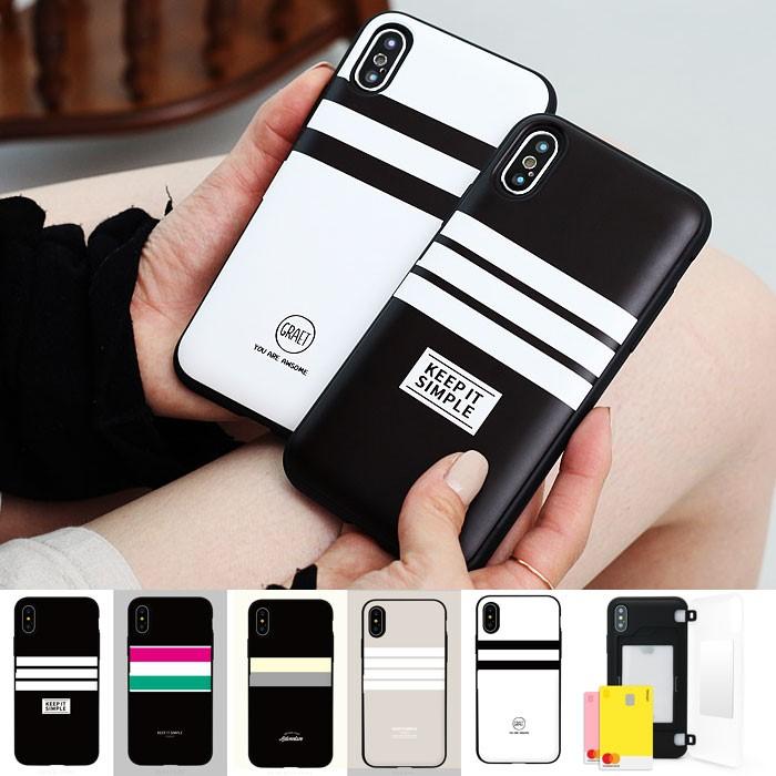 [Hidi] LG V40 (V400)  / 코지 모던라인 카드도어 범퍼케이스