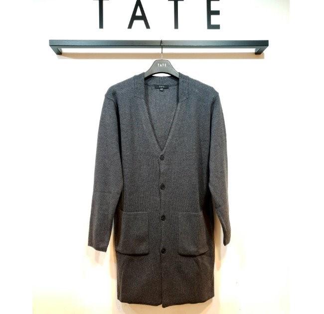 TATE NC02 남성 루즈핏 롱 가디건 KA9F7-MSC020