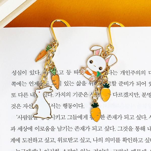 [핸드메이드] 당근과 토끼 책갈피