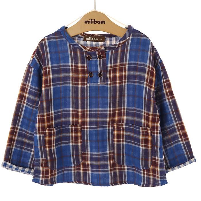밀리밤 NC02 라운드 셔츠, 60 MLYC19962