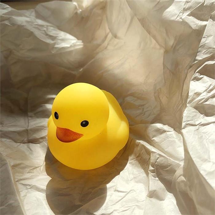 [피우다 (PIUDA)] 둥둥 물놀이 미니 러버덕 (오리 장난감)
