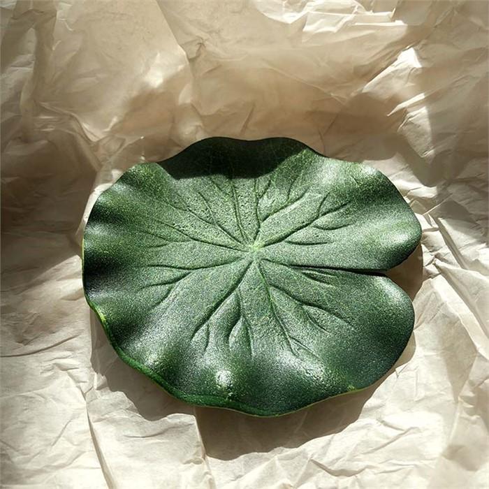[피우다 (PIUDA)] 연잎 모형 (장식소품, 수반장식)