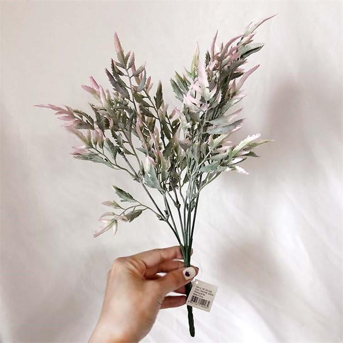 [피우다 (PIUDA)] 핑크그린 조화 부쉬