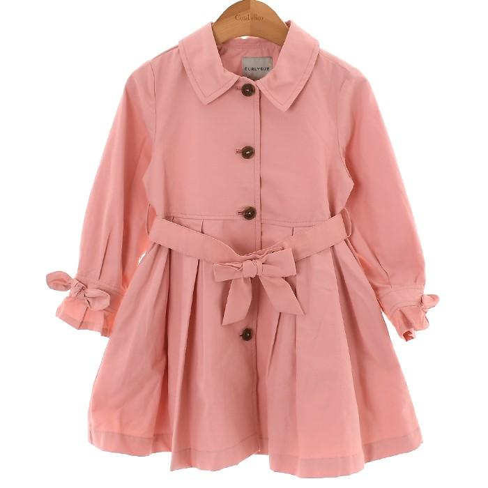 컬리수 NC02 핑크빛트렌치코트 COF1GABY01