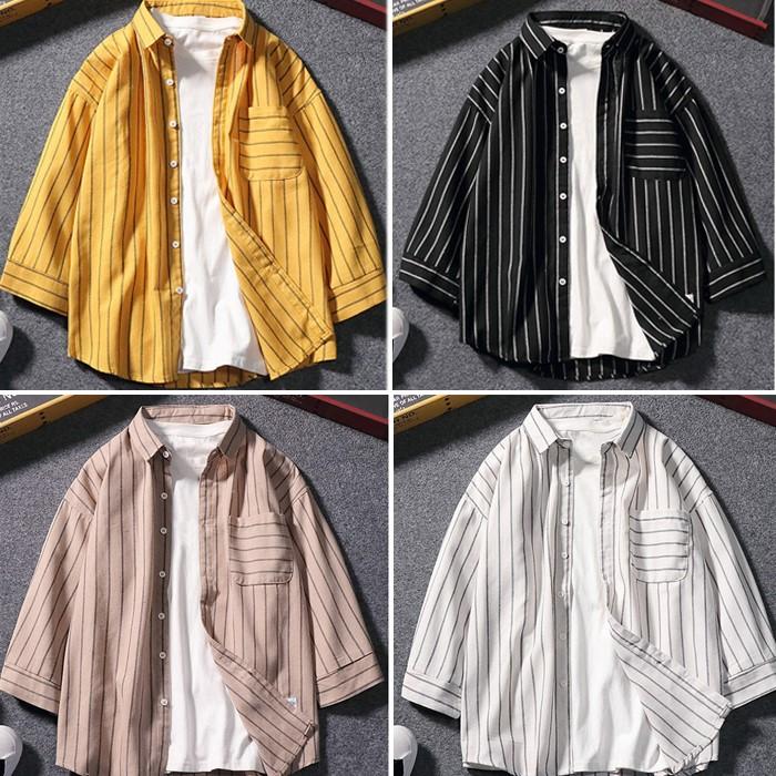 [밥스] # CH-19 FW NB07 7부스트라이프 셔츠