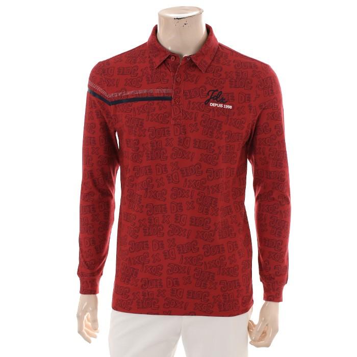 JDX NC02 남성 로고플레이 카라 티셔츠 X2QFTLM09