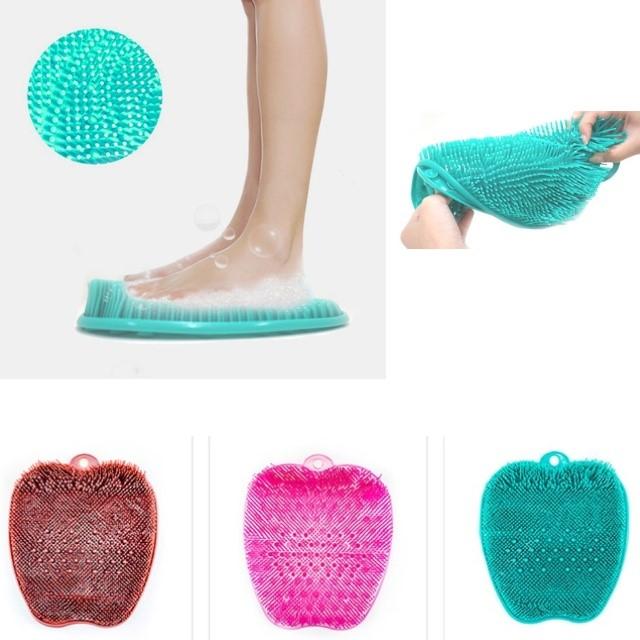 [소풍미소] 남자 발각질 발닦이 발세척 매트 임산부 발관리 풋케어 풋브러쉬 발 브러쉬 발각질 제거기