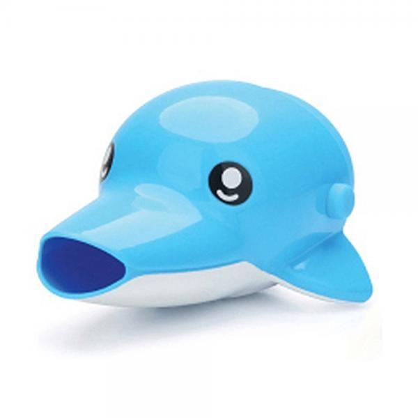 수도꼭지 돌고래 블루 자바라 스스로