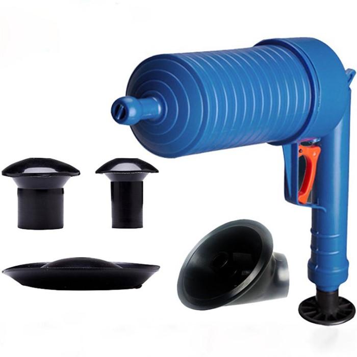 [퓨어] 공기압축 뚫어뻥(블루)