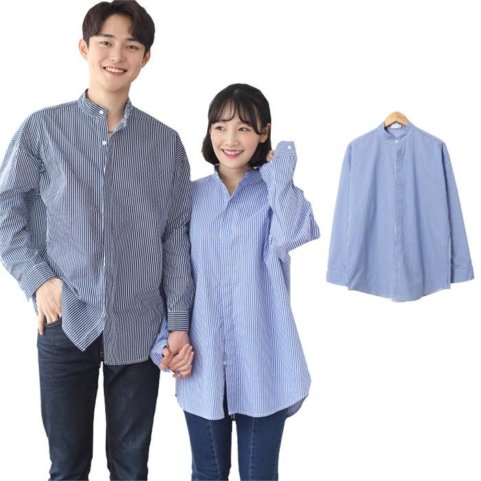 [JFNC] SR - 히든 차이나 남녀공용 긴팔셔츠 sh030