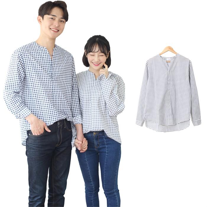 [JFNC] 노치넵 스냅 S 남녀공용 긴팔셔츠 sh016