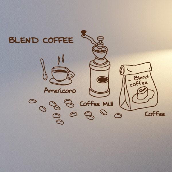 [뭉키데코] 카페스티커_커피 브렌딩 02