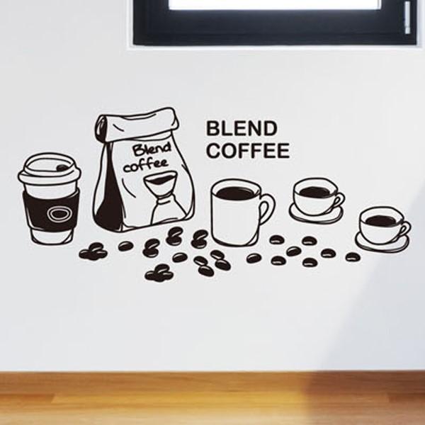 [뭉키데코] 카페스티커_에소프레소 커피 04