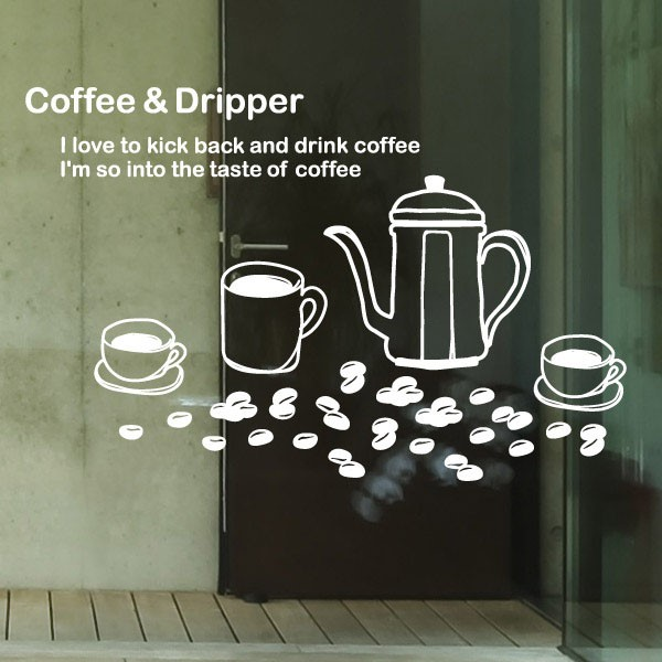 [뭉키데코] 카페스티커_에소프레소 커피 01