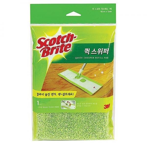 리필 퀵스위퍼 막대걸레 회전청소기 1매