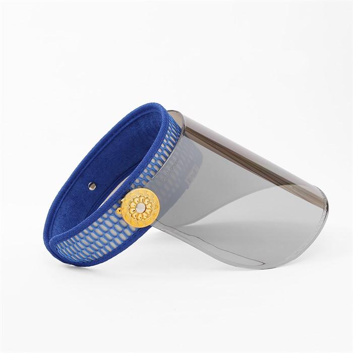와이드 미러 자외선차단 썬캡(블루)