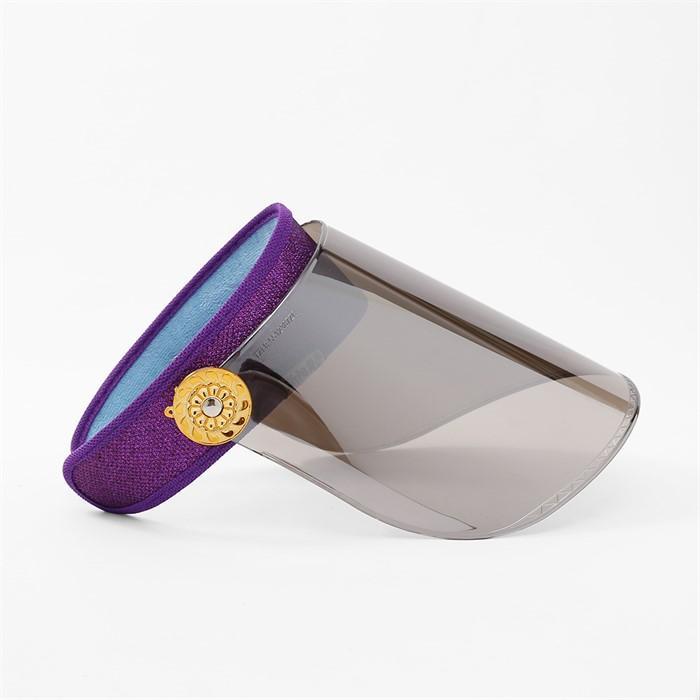 와이드 UV 자외선차단 썬캡(퍼플)