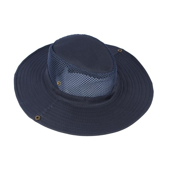 인존스 메쉬 등산모자(블루)