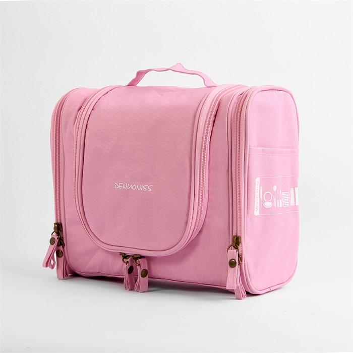 [보아라] 모리 여행용 메이크업가방(핑크)