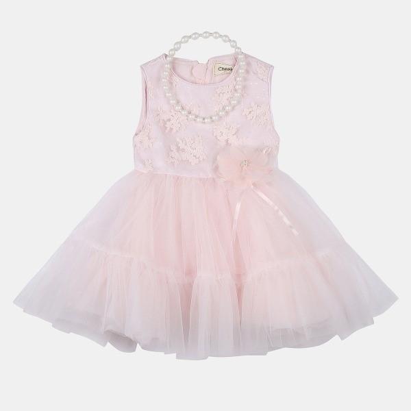 치크 NC08 스페셜 드레스 (+목걸이) CKOW19S2G