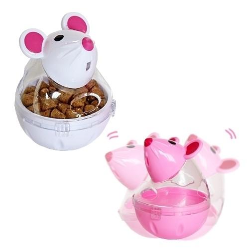반려동물용품 펫투유 쉐이킹 우쭈쭈 마우스 스낵볼