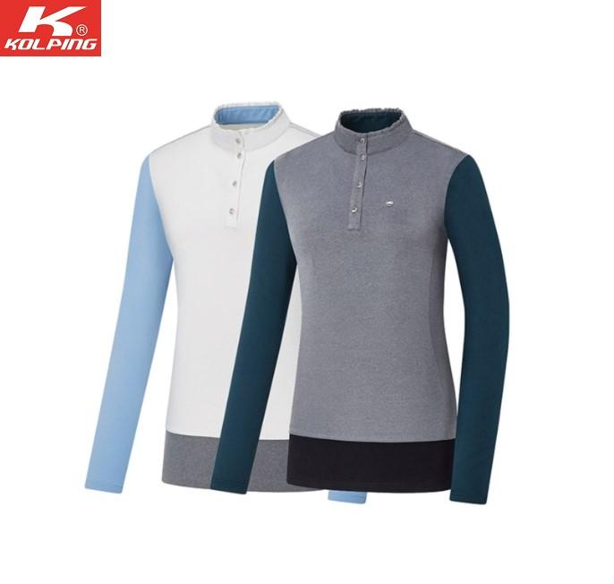 콜핑 PGD01 겨울여성등산티셔츠 보온 활동성 KQT4508W