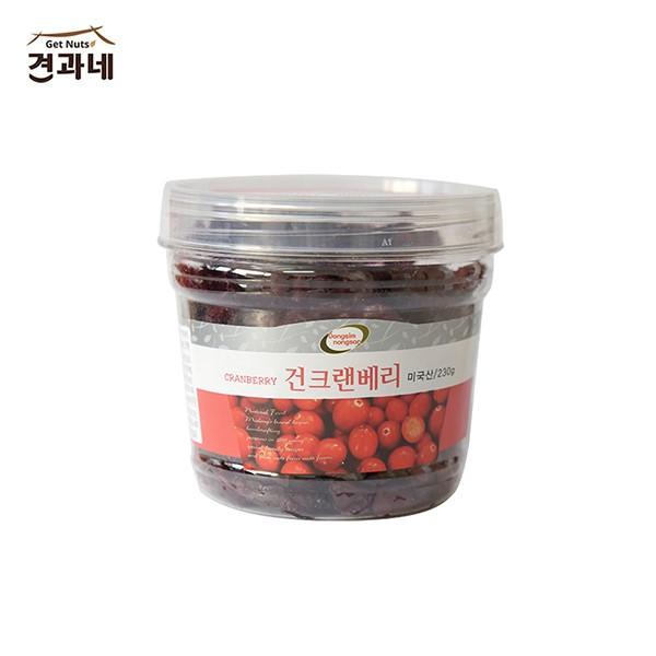 [견과네 ] 건크랜베리 230g/웰빙/간식/먹거리
