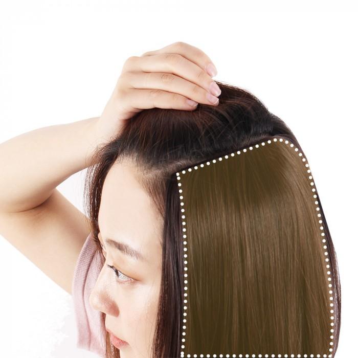 헤어뽕 부분가발 정수리 옆머리 긴머리가발