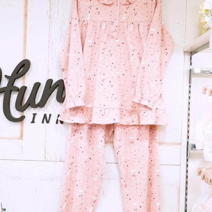 헌트이너웨어 NC08 여주니어 9부 핑크잠옷 hipp949j6n
